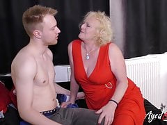 AgedLovE Blonde Mature a Youngster Hardcore Fuck