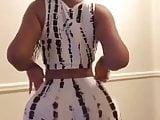Big ass black girl twerking