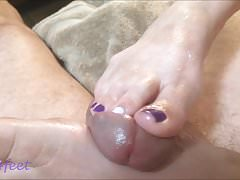 Luv4feet - 2018 Purple Shades Footjob PT2