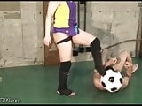 Wrestling Technique and Soccer Ball Slave