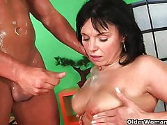 Soccer mom wants you to cum in her mouth