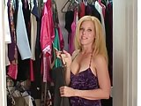 MILF trying clothes for a fuck date 18-207