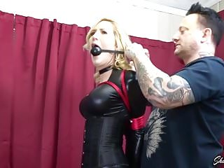Bdsm Latex video: Reagan Lush Dom Gets Bound And Gagged
