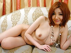 Japanese Housewife, Yuna Hirose Got Stimulated With A Vibrat