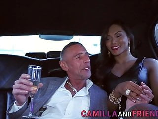 Black And Ebony Shemale video: Camilla Jolie Fucking a Handsome Guy