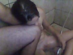 was alle frau in der dusche machen
