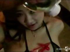 Sexy ragazze asiatiche farsi sbattere sulla fotocamera