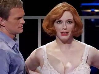 Big Tits Celebrity Milf video: Christina Hendricks Huge Tits 2