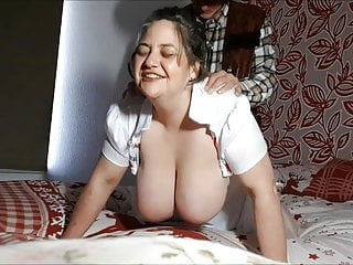 Amateur Hardcore Bbw video: ANAL DOGGY STYLE HUGE TITYS