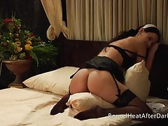 The Maidservant's Tale: Busty Lesbian Maid Pillow Humping