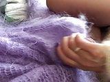Fluffy Rub Mohair Down
