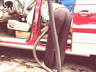 Hidden Cams Voyeur Big Ass video: Car Wash Ass Part 1