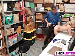 Nubile Gal Emma Gets Drilled For Shoplifting