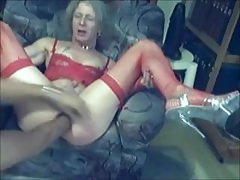 Older tranny at play time