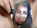 Tribute for angiebutt7 - face fucked and covered with cum