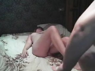 Chubby couple pussy & anal sex on cam