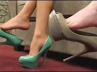 Foot Fetish High Heels Joi video: Shoe Worship