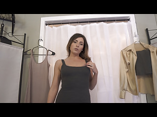 Pov Striptease Mom video: Mom And Son Share A Changing Room Part 1