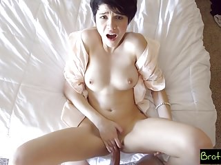 Bratty Sis - Fucked My Stepsister In Our Parents Bed