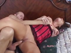 Big titted MILF loves big dick in her mouth and wet cunt