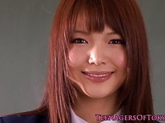 Japanese lesbian schoolgirls with small tits