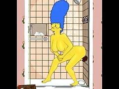 Marge compra un dildo nero