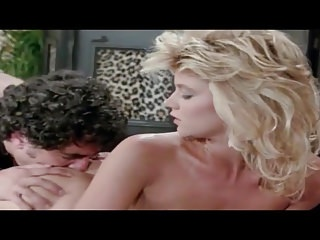 Vintage Retro vid: Ginger Lynn gets a load on her ass Classic Porn!