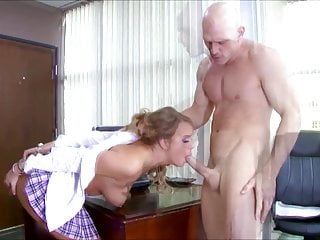 Blonde Teacher American video: Alexis Adams Handcuffed Schoolgirl