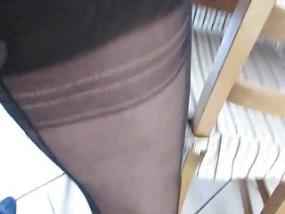 Cuckold Stockings Nylons video: Fuck her in Nylons