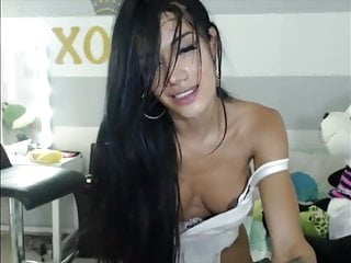 Masturbation Shemale Solo Shemale Webcam Shemale video: Laura Saenz Can't Stop Jizzing