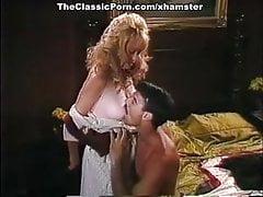 Tracey Adams, Mike Horner et John Leslie dans une scène porno vintage