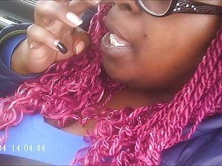Amateur Black video: Hood MILF Pink Toes