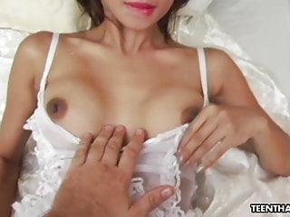 Hardcore Asian Stockings video: Thai prostitute, Katsumi likes to have anal sex a lot