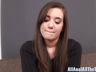 Anal Amateur video: Cute Teen Gia Paige Gets Tight Ass Filled With Cum. AllAnal!