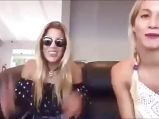 Virgina Gallardo Live stream Nip Slips