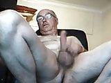 Caught daddy wanking on cam