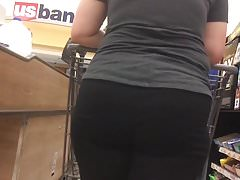 Gruby PAWG Blonde Big Ass