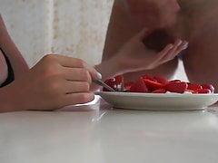 Fare colazione per la mia dea