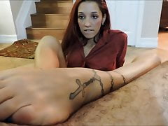 Hot doppio footjob