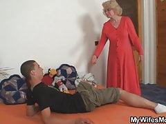 Wütend fickt ihn keine Schwiegermutter