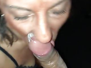 IMWF Milf picked up at bar sucks dick before getting pounded