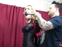 Reagan Lush Dom Gets Bound And Gagged