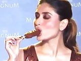 Kareena Kapoor Loves Licking Suckin her Chocolate Ice Lolly