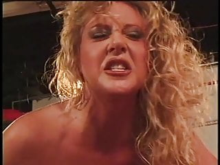 Anal Double Penetration Girl video: Horny blond girl beats all tough wrestlers