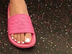 Offene Füße