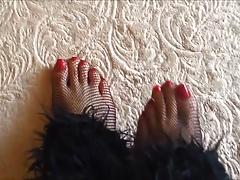Secretaria sexy piernas perfectas y pies sexy