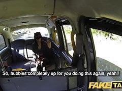 Falešný taxi Horny tajemný Maskovaný Maya se vrací za velké taxi