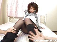 Yuri Kosaka deals large dick in com - More at hotajp.com