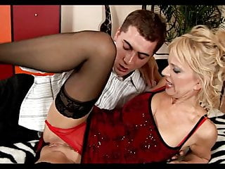 Fingering Blonde Small Tits video: Nice Mature Loves to Fuck
