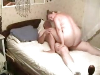 Bbw Blonde Blowjob video: Mature man fucking bbw milf